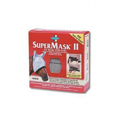 FARNAM Supermask II bez uší vel. FOAL/PONNY šedokaštan