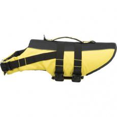 Life Vest plavací vesta pro psa L 55 cm: 50-80 cm, do 36kg žluto/černá
