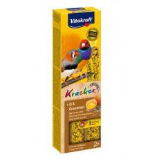 Vitakraft Bird Kräcker exoti egg finch tyč 2ks
