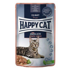 Happy Cat kapsa Meat in Sauce Culinary Losos 85g