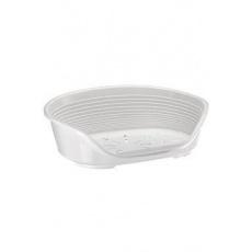 Pelech plast SIESTA DLX 6 bílý 70,5x52x23,5cm FP 1ks