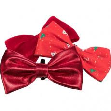 Vánoční motýlek na obojek 10cm, různé motivy