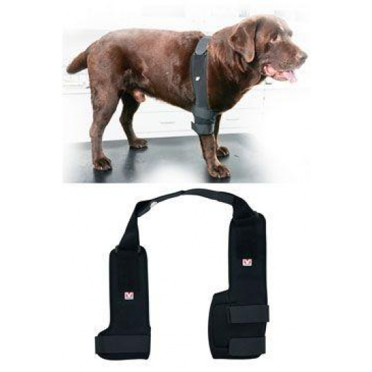 Bandáž Rehab Pro na loket pro psa KRUUSE S pravá