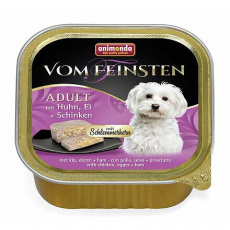 V.Feinsten CORE kuřecí, vejce + šunka pro psy 150g