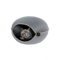Pelech/domek pro kočky LOUNA šedá Zolux