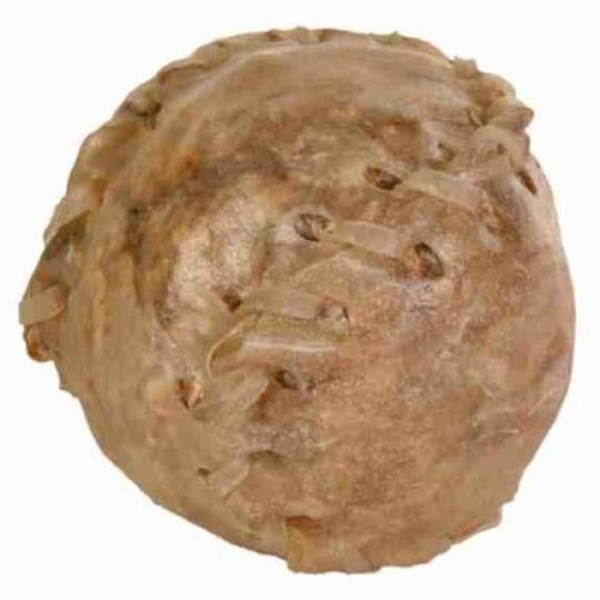 Koule z buvolí kůže - plněná malá  70g/4,5cm [10ks/bal.]