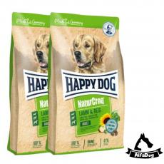 Happy Dog NaturCroq LAMM & REIS 2x15 kg