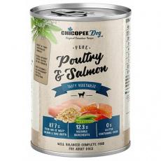 CHICOPEE ADULT čisté drůbeží, rybí filet pro psy 400 g