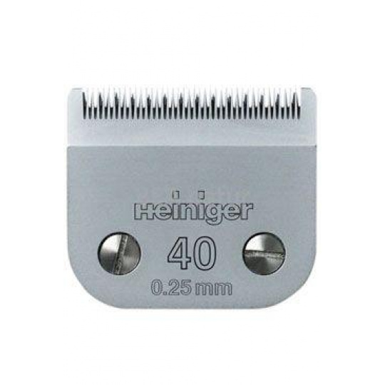Náhradní stříhací hlava Heiniger č.40 (0,25mm)