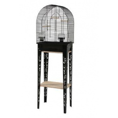 Klec ptáci CHIC PATIO S černá Zolux
