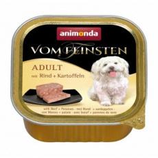 ANIMONDA paštika ADULT - hovězí, brambory pro psy 150g