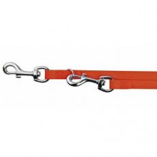 Easy Life přepín.vodítko PVC S-XL 2,00 m/17 mm neon, oranžová - DOPRODEJ