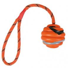 Vrhací vlnitý míč na šňůře 6 cm/30 cm