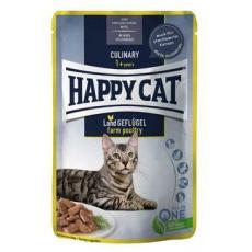 Happy Cat kapsa Meat in Sauce Culinary Drůbež 85g