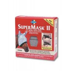 FARNAM Supermask II s ušima vel. HORSE šedo-zelená