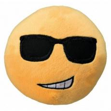 Plyšový SMAJLÍK velký 14 cm žlutý,  chladný - DOPRODEJ