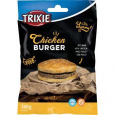 Chicken Burger, kuřecí hambuger  - buvolí kůže, 9cm, 140 g