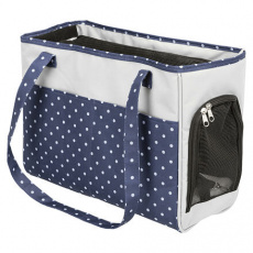 Cestovní taška Bonny 20 x 29 x 40 cm, modro/šedá do 5 kg