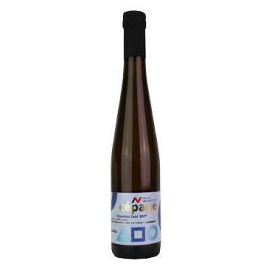 Víno NV CÉPAGE Rulandské šedé výb.cib. slad2017 0,375l
