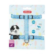 Postroj pes štěně PIXIE nastavitelný modrý 8mm Zolux