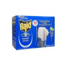 Raid elektr. odpuzovač hmyzu strojek + tek.náplň 27ml