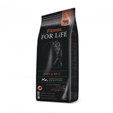 Fitmin dog For Life Beef & Rice 2 x 14 kg