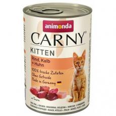 ANIMONDA konzerva CARNY Kitten - hovězí, telecí, kuřecí 400g