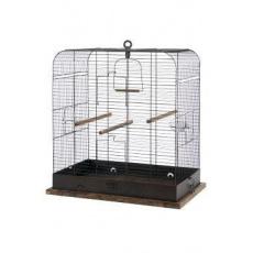 Klec ptáci RETRO MADELEINE kov/dřevo 54x34x53cm Zolux