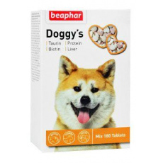 Beaphar Doggys Mix pochoutka biotin+taurin pes 180tbl