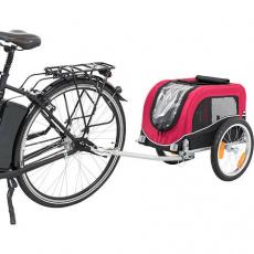 Vozík pro psa za jízdní kolo S 53 x 60 x 60/117 cm, nosnost max. 15 kg