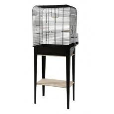 Klec ptáci CHIC LOFT L černá Zolux