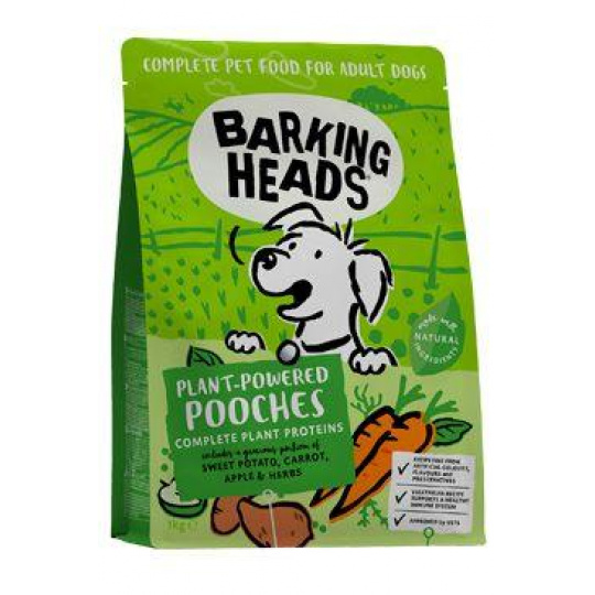 BARKING HEADS Plant-Powered Pooches 1kg