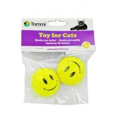 Hračka kočka Míček s obličejem 4,5cm Tommi 2ks
