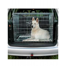 Klec do auta pro psa kovová 93x69x62cm TR
