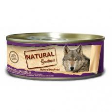 Natural Greatness kuřecí prsa+zelenina, konzerva pro psy 156 g
