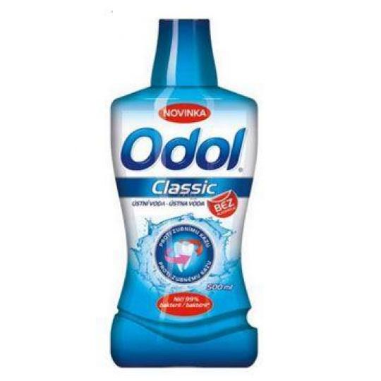 Voda ústní Odol Clasic proti zubnímu kazu 500ml