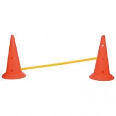 Dog Activity překážky (2 ks) 30x50 cm/100 cm oranž/žlutá