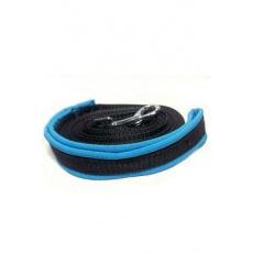Vodítko DINOFASHION stopovací s rukojetí 15m modrá