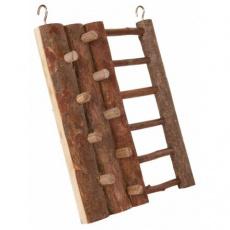 Lezecká stěna pro křečky, dřevo s kůrou, 16 x 20 cm