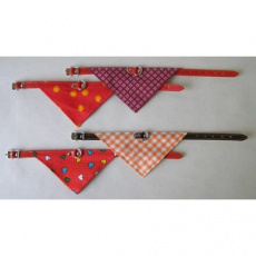 Obojek podšitý + šátek 50x2,0cm - DOPRODEJ