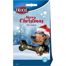 Vánoční mini srdíčka s kuřecím masem, pamlsek pro psy, 140 g