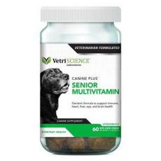 VetriScience Canine Plus Senior Multivitamin 60ks