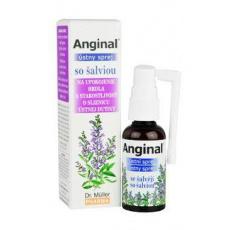 Dr.Muller Anginal ústní sprej se šalvějí 30ml