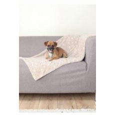 Deka pro psy COSY béžový plyš 100x70cm TR