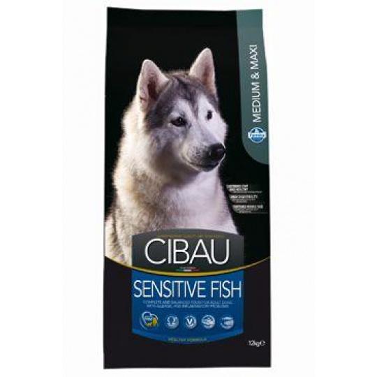Cibau Dog Sensitive Fish / Rice Medium / Maxi 12 kg