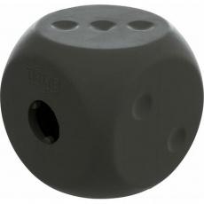 Snack cube - kostka na pamlsky, přírodní guma, 5 cm