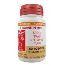 Giom pes L-karnitin Aktiv 60 MINI tbl+20% zdarma