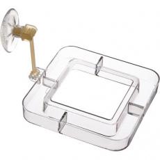 Krmný rámeček s přísavkou a pohyblivým ramenem 7x7 cm - DOPRODEJ