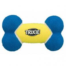 Tenisová kost modro-žlutá TRIXIE 17 cm - DOPRODEJ