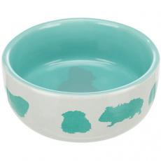 Keramická miska pro morčata barevná 250 ml/11 cm